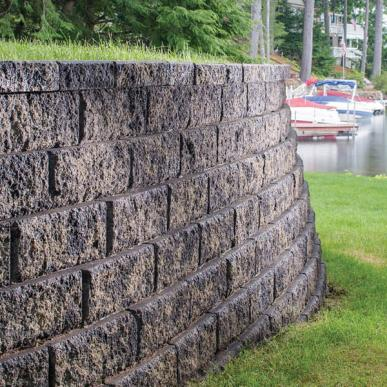 Retaining Wall Systems Core Building Materials