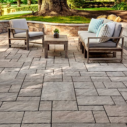 Patio Ideas With Existing Concrete Slab: Patio Pavers & Paving Stone